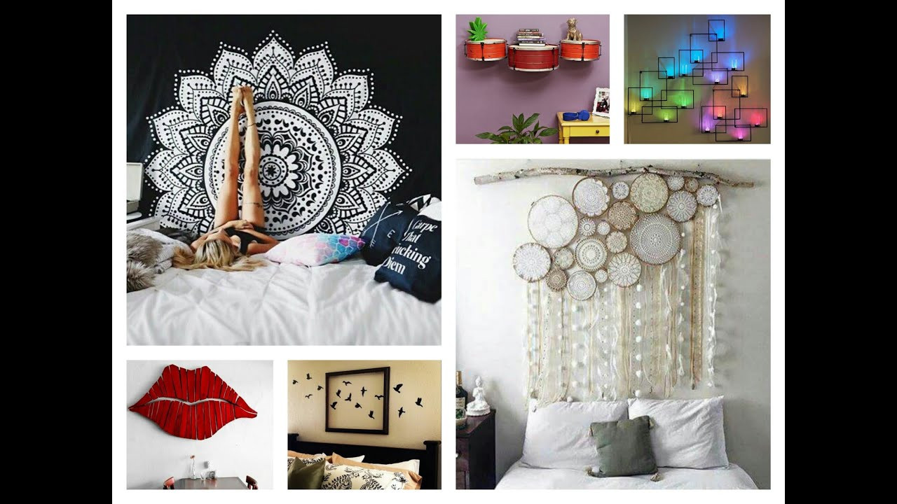 Best ideas about DIY Wall Decoration Ideas . Save or Pin Creative Wall Decor Ideas DIY Room Decorations Now.