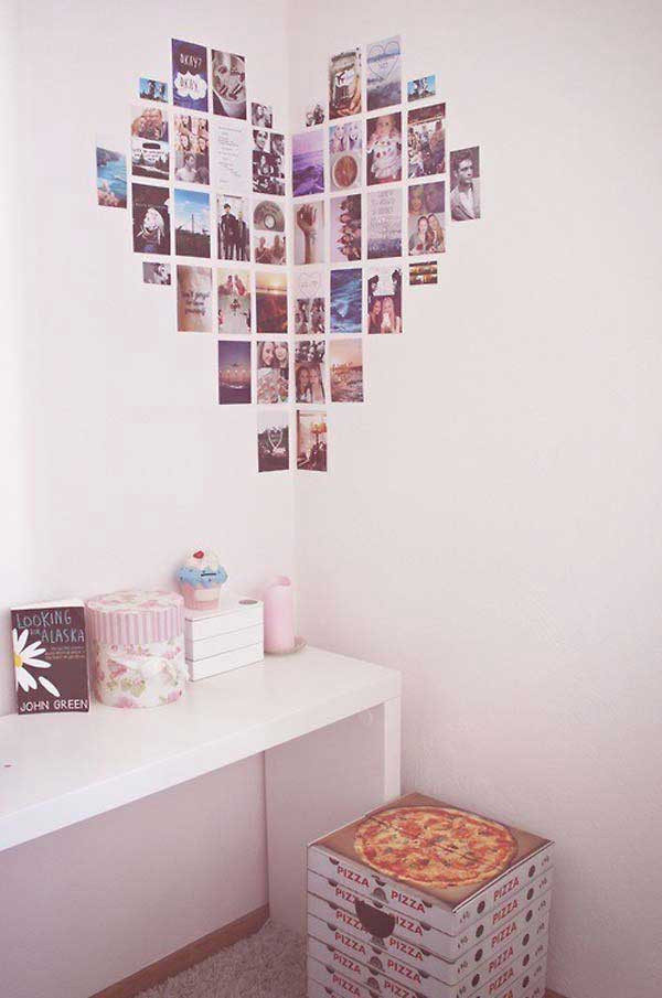 Best ideas about DIY Wall Decoration Ideas . Save or Pin 26 DIY Cool And No Money Decorating Ideas for Your Wall Now.