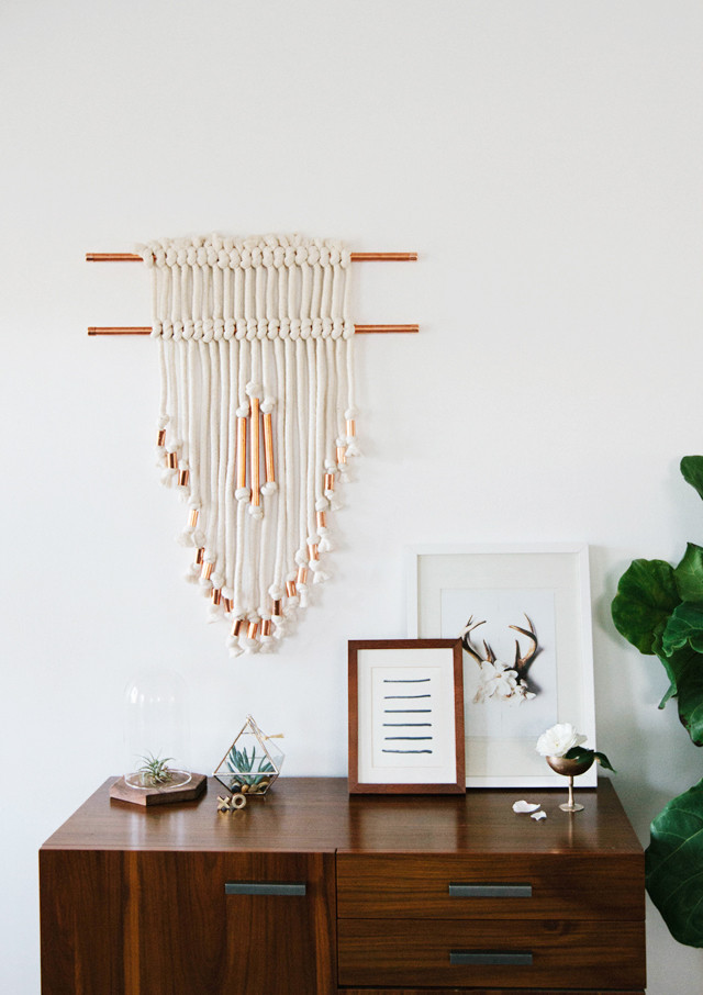 Best ideas about DIY Wall Hangers . Save or Pin Sarah Sherman Samuel DIY copper wall hanging Now.
