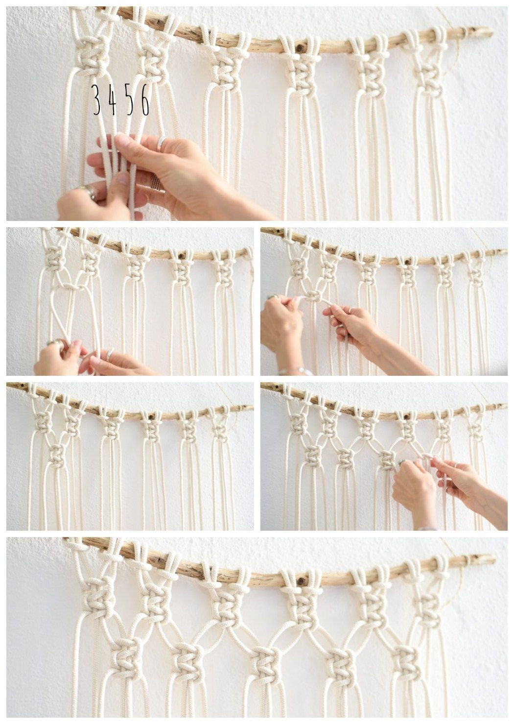 Best ideas about DIY Wall Hangers . Save or Pin Interior Super Easy DIY Macrame Wall Hanging Tutorial Now.