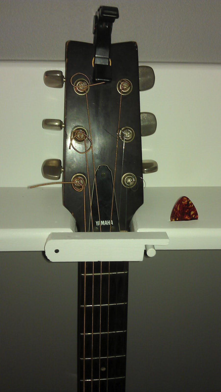 Best ideas about DIY Wall Hangers . Save or Pin DIY 4 Guitar Wall Hanger Cost $15ish FEATURED AS AN Now.