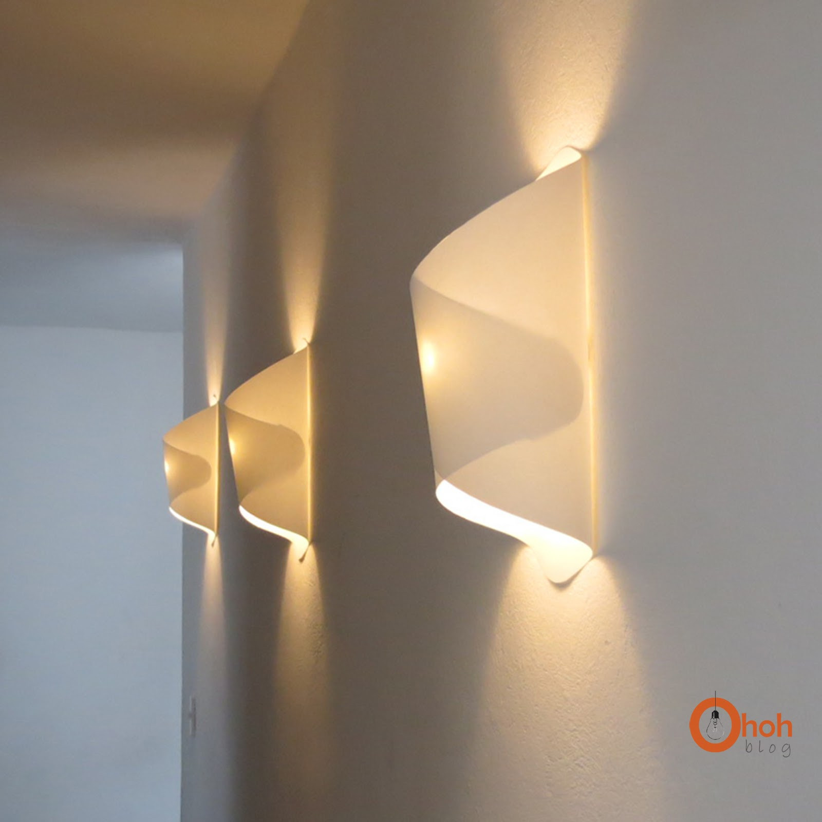Best ideas about DIY Wall Lighting . Save or Pin DIY paper lamp Lampara de papel Ohoh Blog Now.