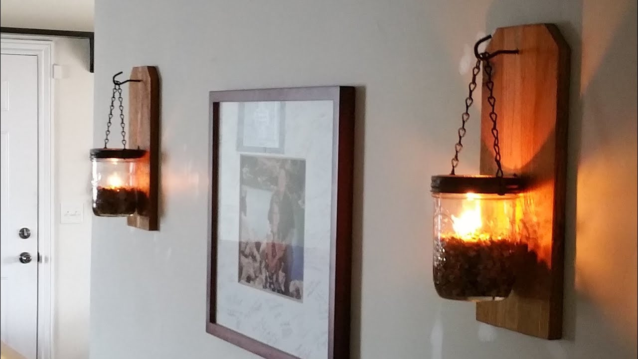 Best ideas about DIY Wall Lighting . Save or Pin f Grid Lighting DIY Wall Oil Lamp And Practically Now.
