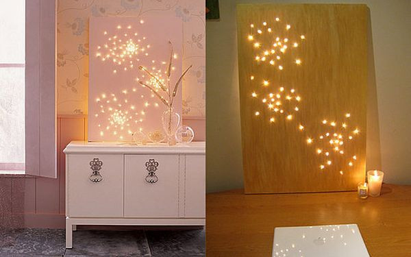 Best ideas about DIY Wall Lighting . Save or Pin 50 Beautiful DIY Wall Art Ideas For Your Home Now.