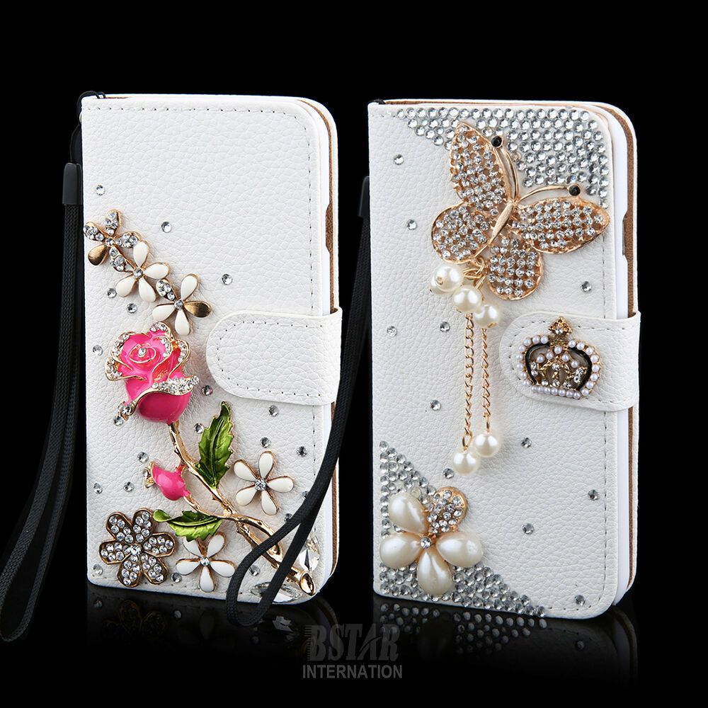 Best ideas about DIY Wallet Phone Case . Save or Pin Crystal Pearl DIY Flip Leather Wallet Case Cover for Now.