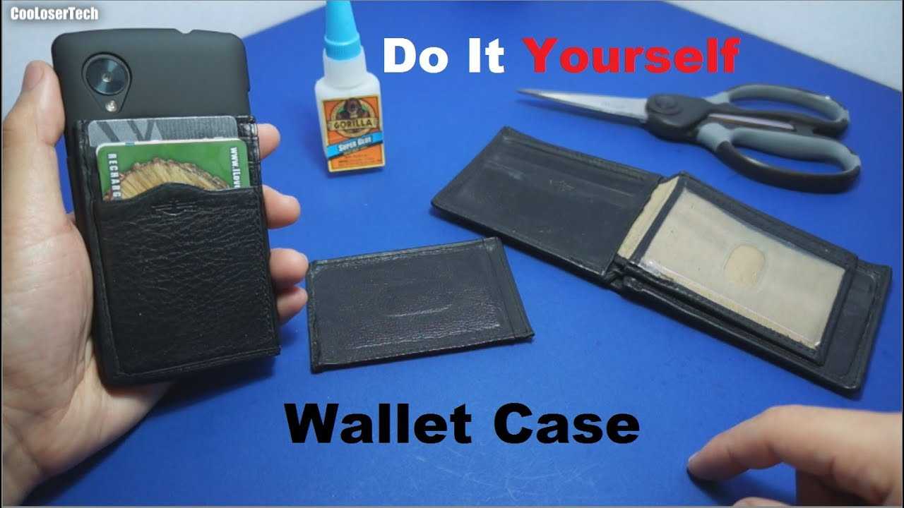 Best ideas about DIY Wallet Phone Case . Save or Pin Do it Yourself Phone Wallet Case DIY Now.