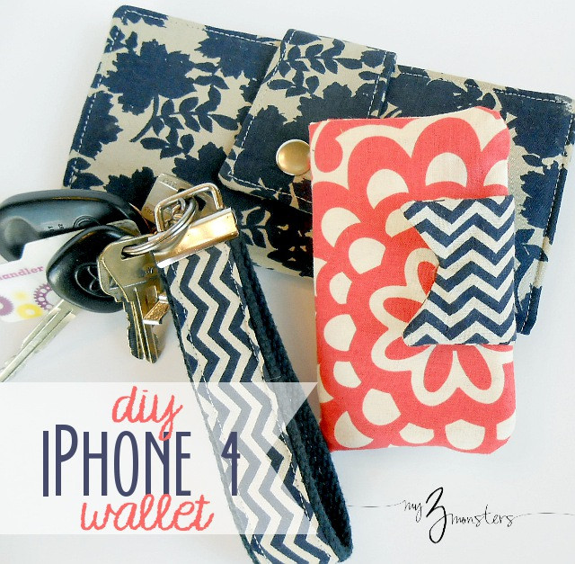 Best ideas about DIY Wallet Phone Case . Save or Pin My 3 Monsters DIY iPhone Wallet Tutorial Now.