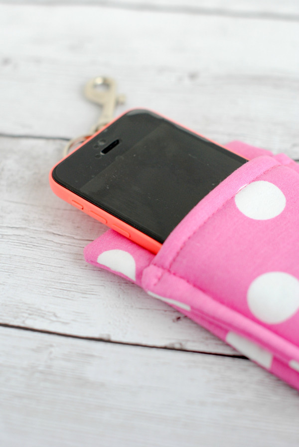 Best ideas about DIY Wallet Phone Case . Save or Pin Simple Phone Wallet Tutorial Now.