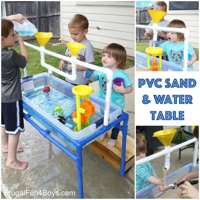 Best ideas about DIY Water Table For Kids . Save or Pin How To Make A PVC Pipe Sand And Water Table Now.