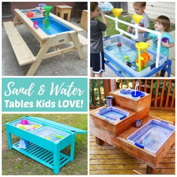 Best ideas about DIY Water Table For Kids . Save or Pin Sand and Water Tables Kids LOVE Now.