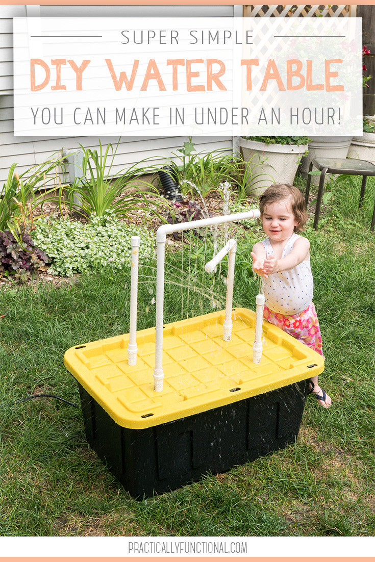 Best ideas about DIY Water Table For Kids . Save or Pin DIY Water Table With Fountains And Sprayers Now.