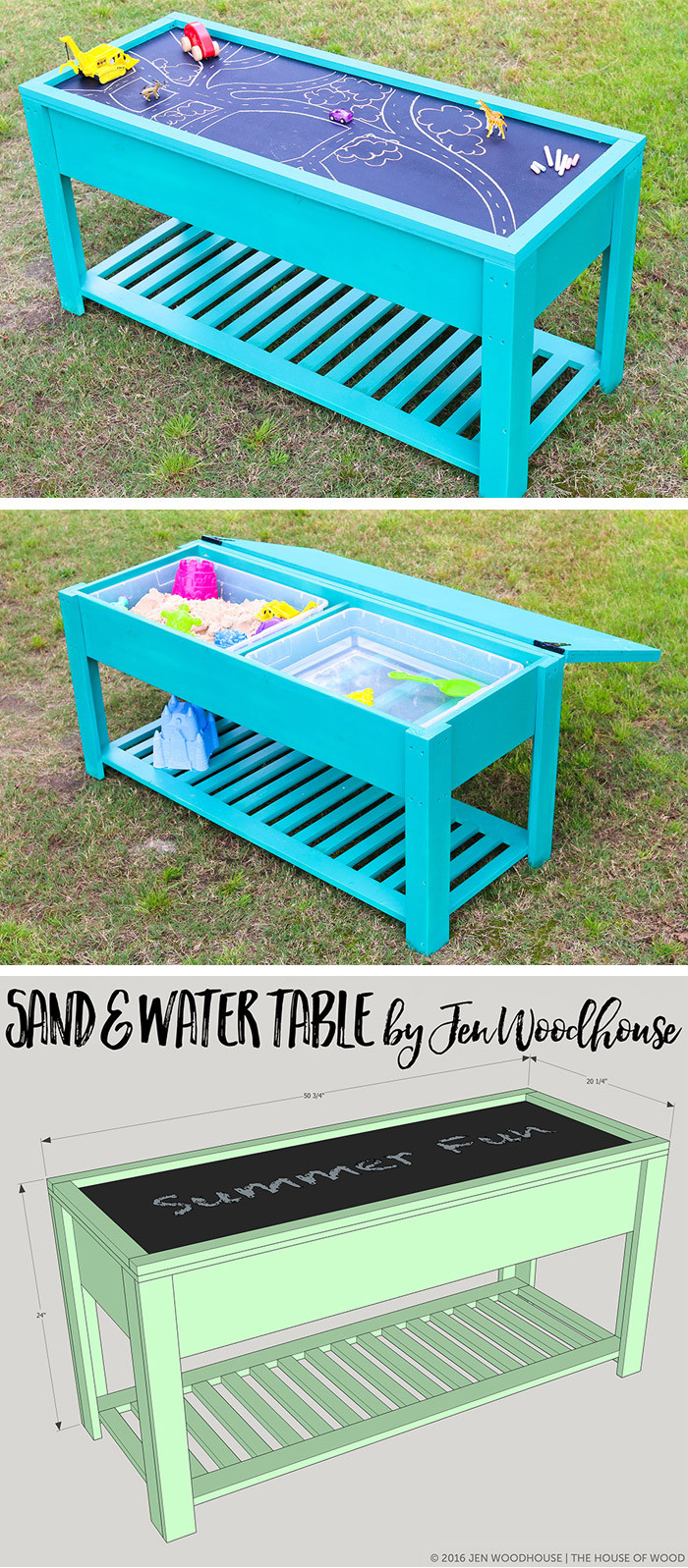Best ideas about DIY Water Table For Kids . Save or Pin How to make a sand and water table Now.