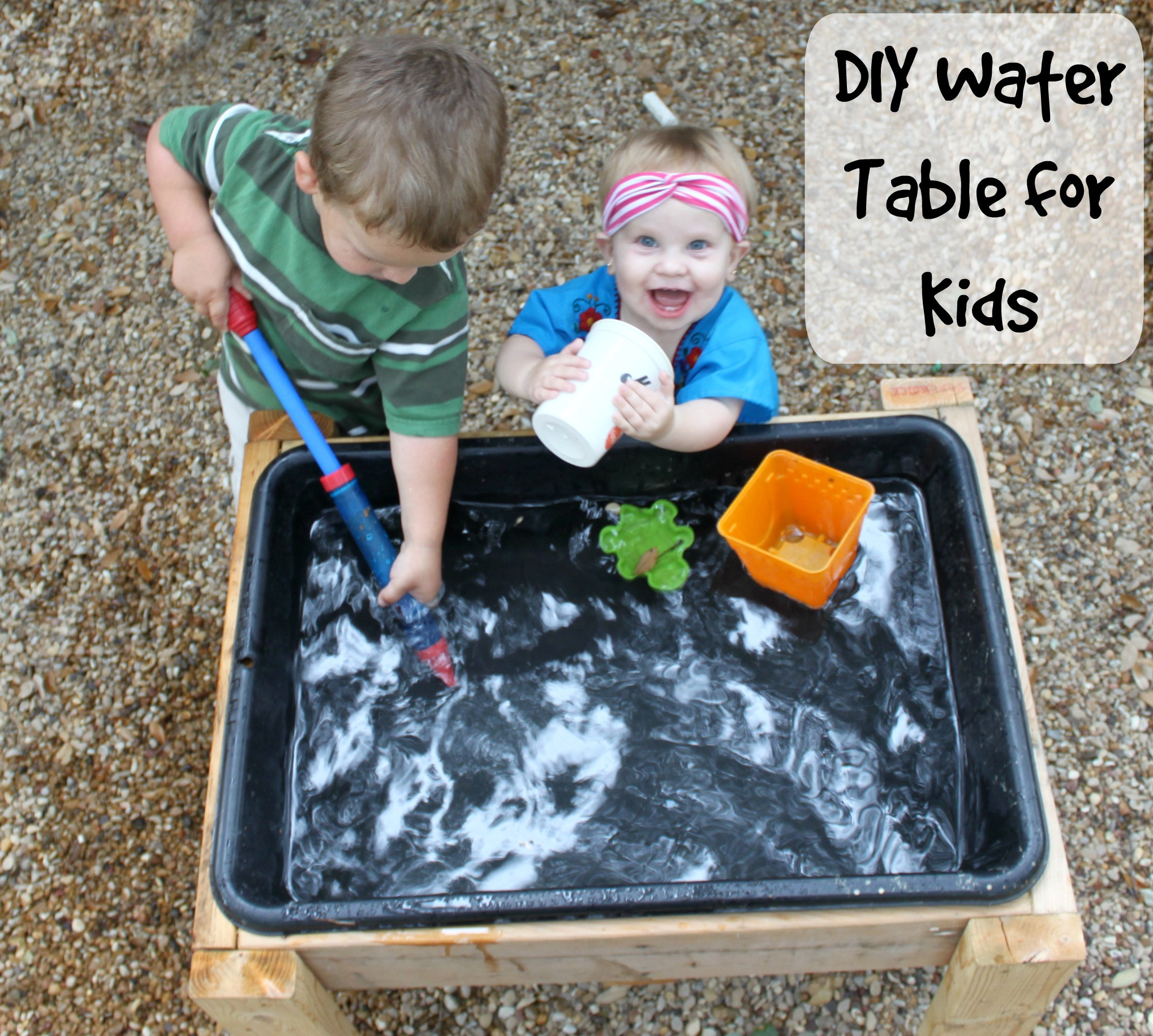 Best ideas about DIY Water Table For Kids . Save or Pin Make a DIY Water Table for Less than $15 Bare Feet on Now.
