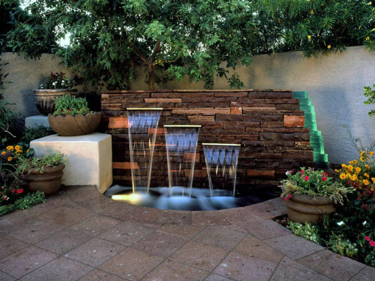 Best ideas about DIY Water Wall Kit . Save or Pin Backyard feature walls diy outdoor water wall fountain Now.