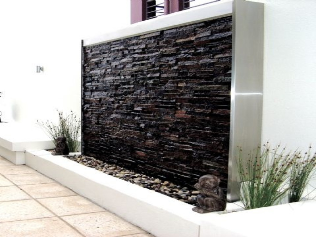 Best ideas about DIY Water Wall Kit . Save or Pin Backyard feature walls outdoor water wall design outdoor Now.