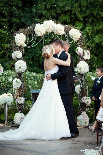 Best ideas about DIY Wedding Altar . Save or Pin 12 Alternative Altars Now.