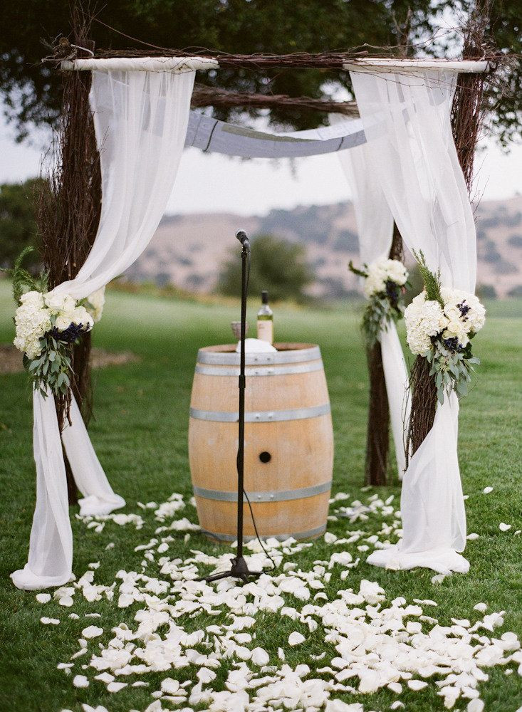 Best ideas about DIY Wedding Altar . Save or Pin 25 Chic And Easy Rustic Wedding Arch Ideas For DIY Brides Now.