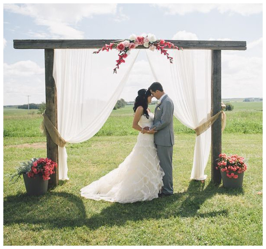 Best ideas about DIY Wedding Altar . Save or Pin How to DIY Your Wedding Altar & Aisle Now.
