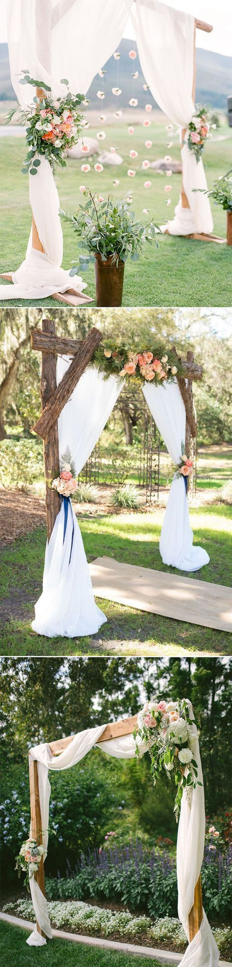 Best ideas about DIY Wedding Altar . Save or Pin Best 25 Wedding arch tulle ideas on Pinterest Now.