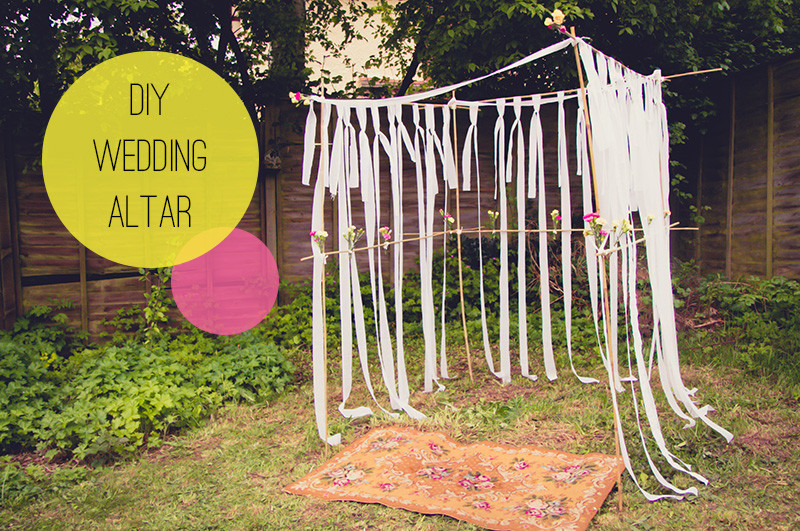Best ideas about DIY Wedding Altar . Save or Pin Wedding DIY How to Make Your Own Altar Now.