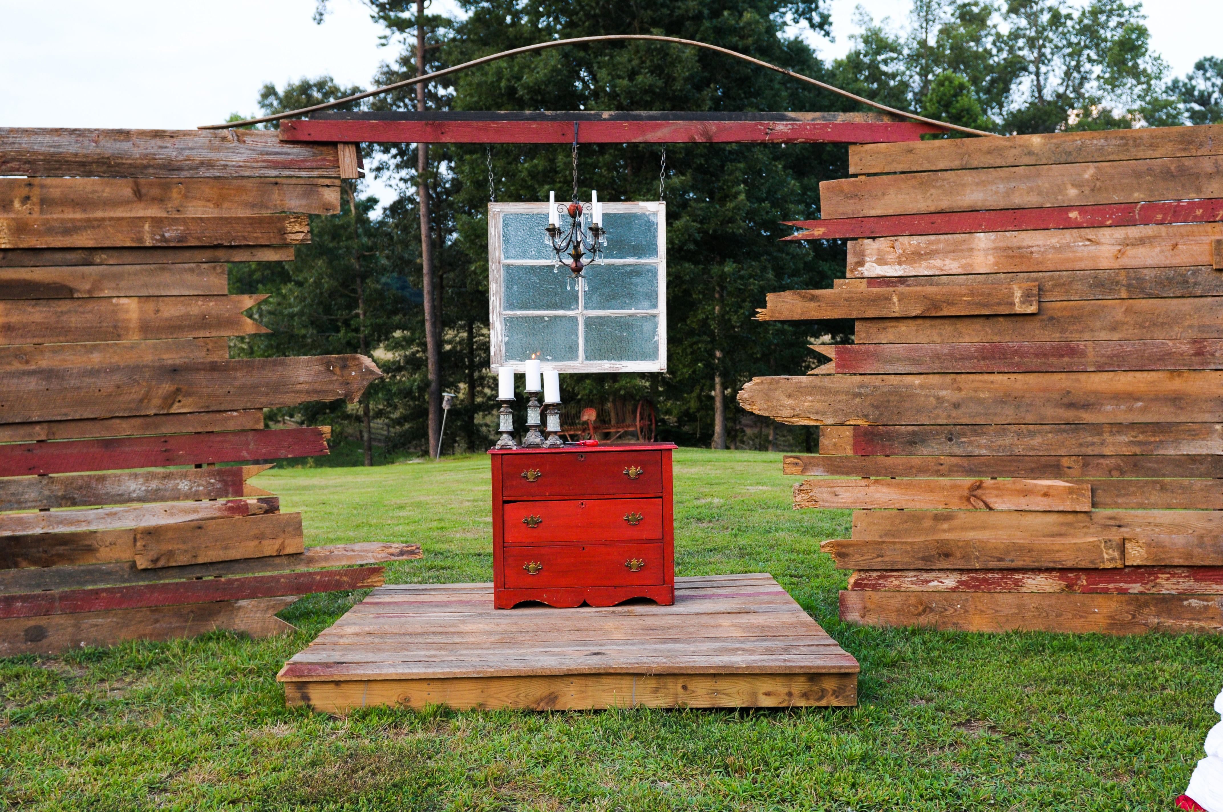 Best ideas about DIY Wedding Altar . Save or Pin DIY Vintage Wedding Altar Now.