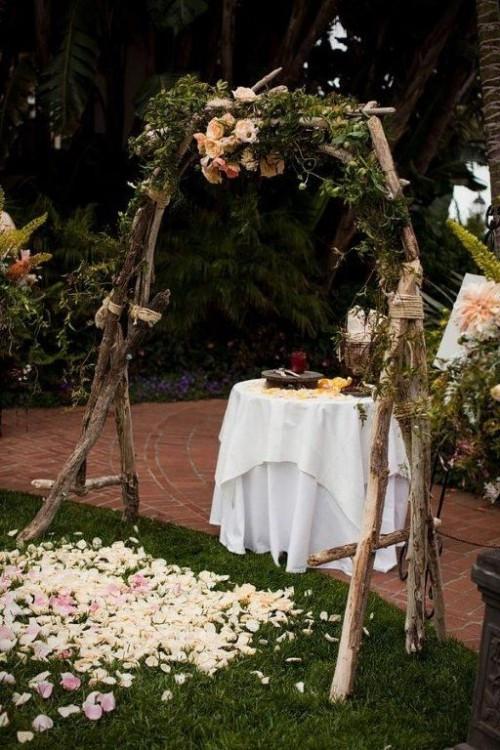 Best ideas about DIY Wedding Altar . Save or Pin 31 Charming Woodland Wedding Arches And Altars Weddingomania Now.