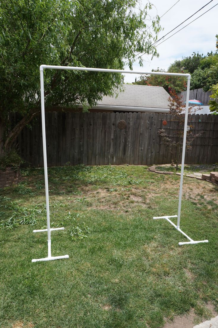 Best ideas about DIY Wedding Arch Frame . Save or Pin Diy arch for wedding using pvc pipes Now.