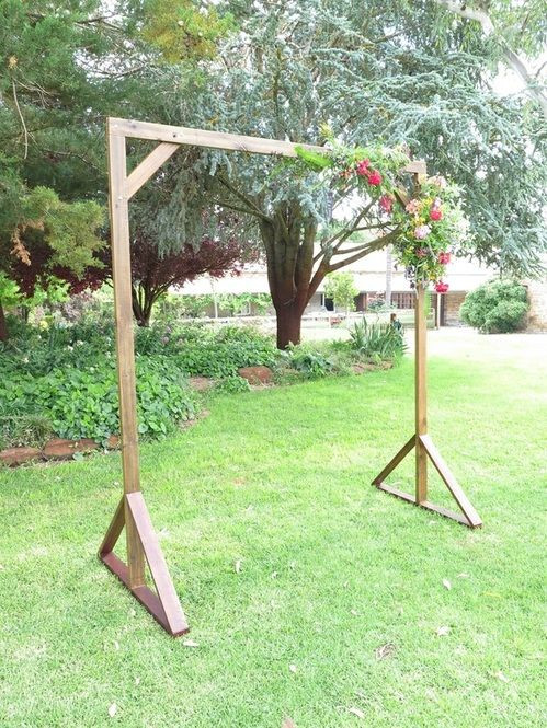 Best ideas about DIY Wedding Arch Frame . Save or Pin 25 best ideas about Simple wedding arch on Pinterest Now.