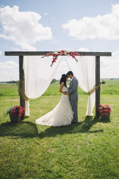 Best ideas about DIY Wedding Arch Frame . Save or Pin 11 Beautiful DIY Wedding Arches Now.