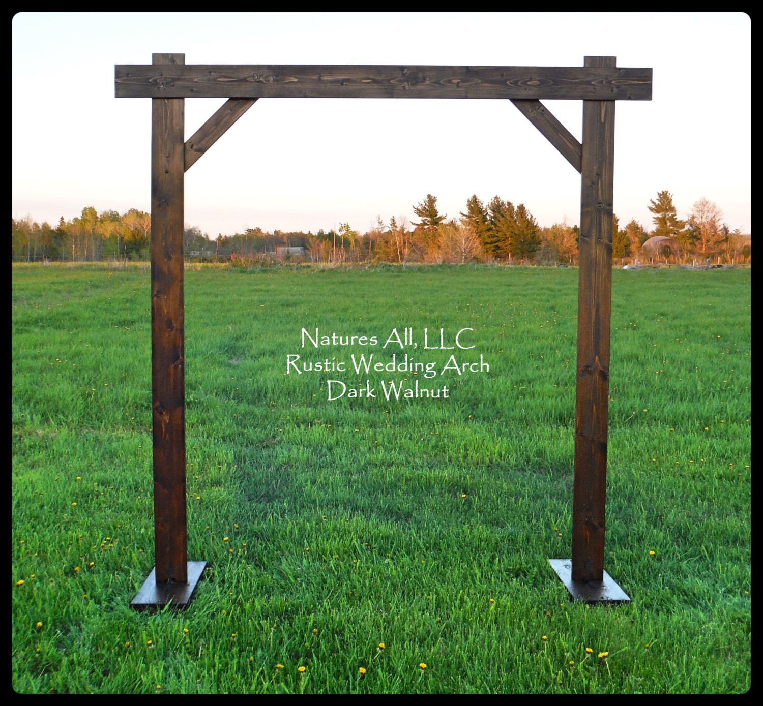 Best ideas about DIY Wedding Arch Kits . Save or Pin Wedding Arch Wedding Arbor Rustic Wedding Arch plete Now.