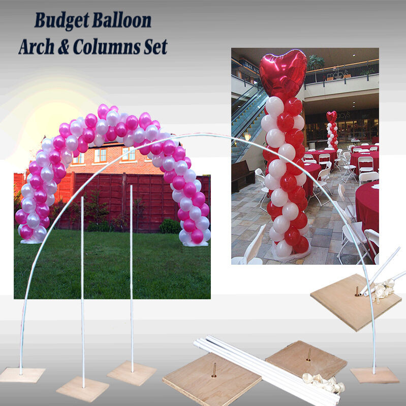 Best ideas about DIY Wedding Arch Kits . Save or Pin BEST BUDGET 2 x BALLOON COLUMNS & ARCH KIT Weddings Now.