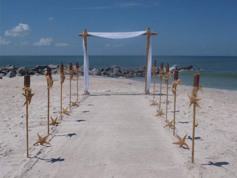 Best ideas about DIY Wedding Arch Kits . Save or Pin Bamboo Wedding Arch AND Aisle Way Decorating Kit Now.