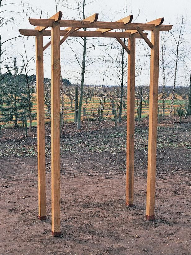 Best ideas about DIY Wedding Arch Kits . Save or Pin How to Build a Freestanding Wooden Pergola Kit Now.