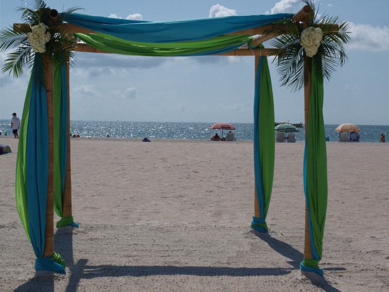Best ideas about DIY Wedding Arch Kits . Save or Pin Wedding Arch Wedding Chupph And Fabric Draping Kit Beach Now.