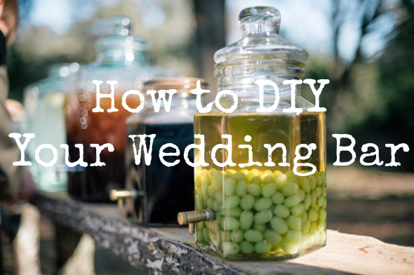 Best ideas about DIY Wedding Bar . Save or Pin 5 Tips for a Low Cost DIY Wedding Bar Rustic Wedding Chic Now.