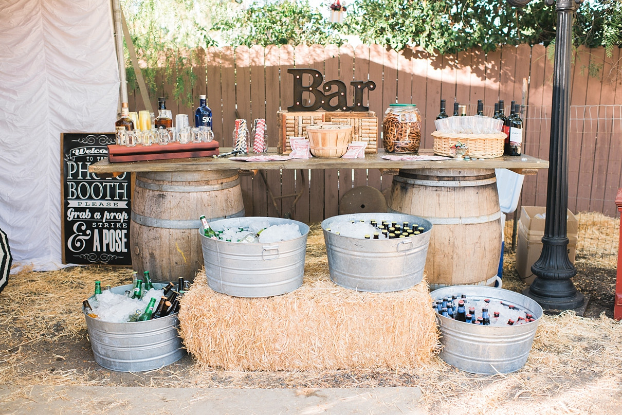 Best ideas about DIY Wedding Bar . Save or Pin A Vintage Backyard Carnival Wedding Now.