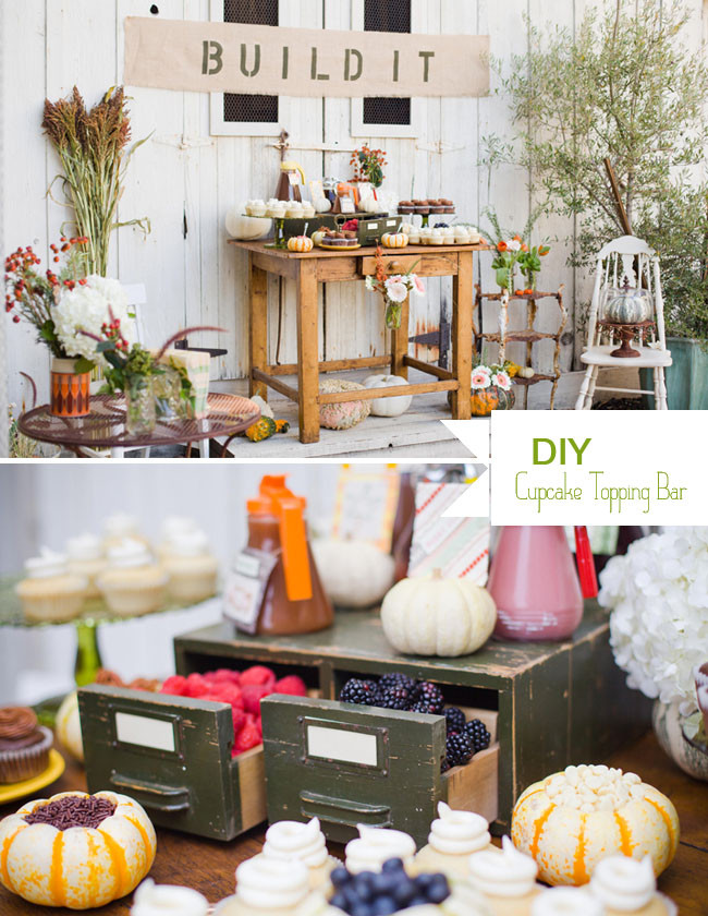 Best ideas about DIY Wedding Bar . Save or Pin DIY A Cupcake Topping Bar Green Wedding Shoes Now.