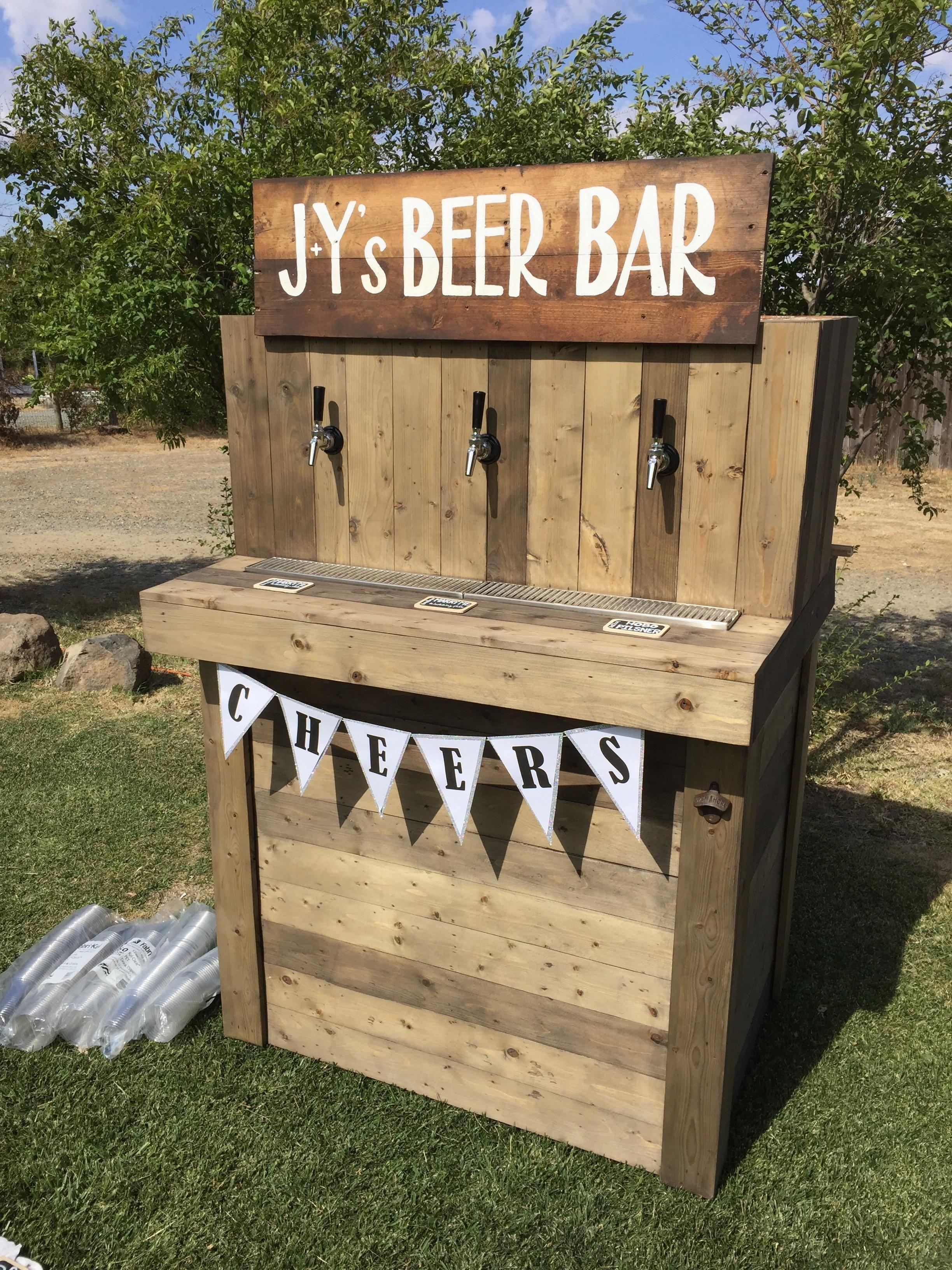 Best ideas about DIY Wedding Bar . Save or Pin DIY Beer Bar Wedding Ideas Now.