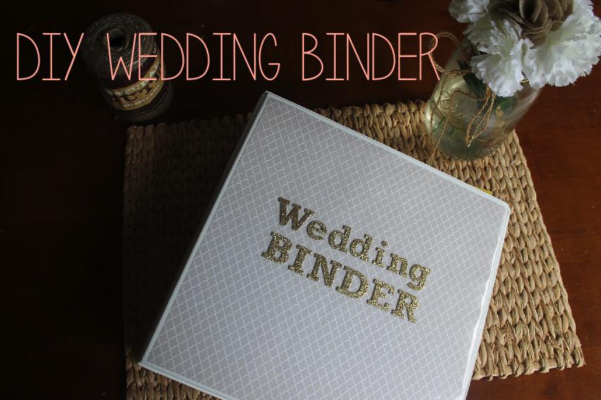 Best ideas about DIY Wedding Binder . Save or Pin Corin Bakes DIY Wedding Planning Binder Now.