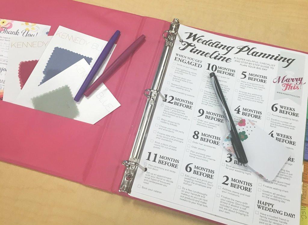 Best ideas about DIY Wedding Binder . Save or Pin DIY Wedding Planning Binder Now.