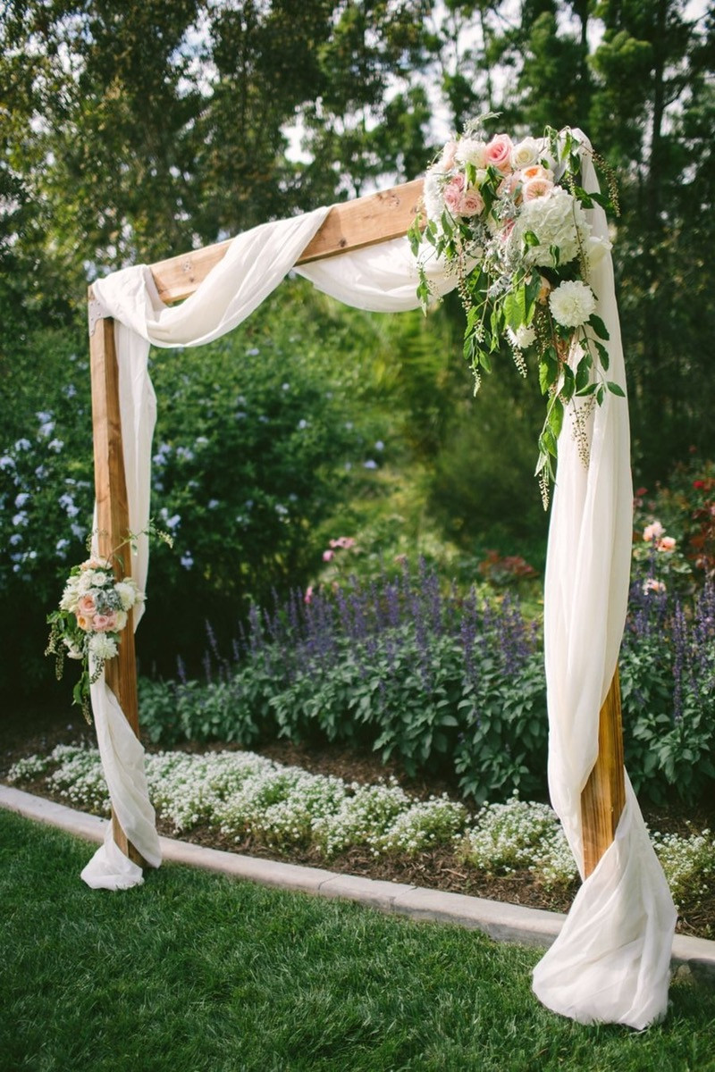 Best ideas about DIY Wedding Blog . Save or Pin 25 Chic and Easy Rustic Wedding Arch Ideas for DIY Brides Now.