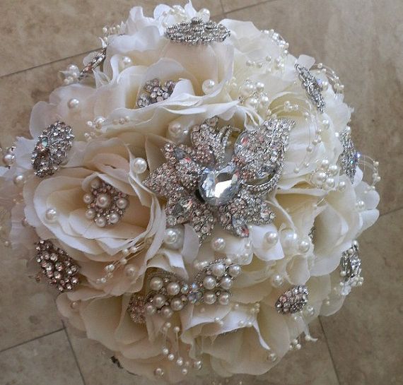 Best ideas about DIY Wedding Bouquet Silk Flowers . Save or Pin DIY Wedding Bouquet Silk Flowers Wedding and Bridal Now.