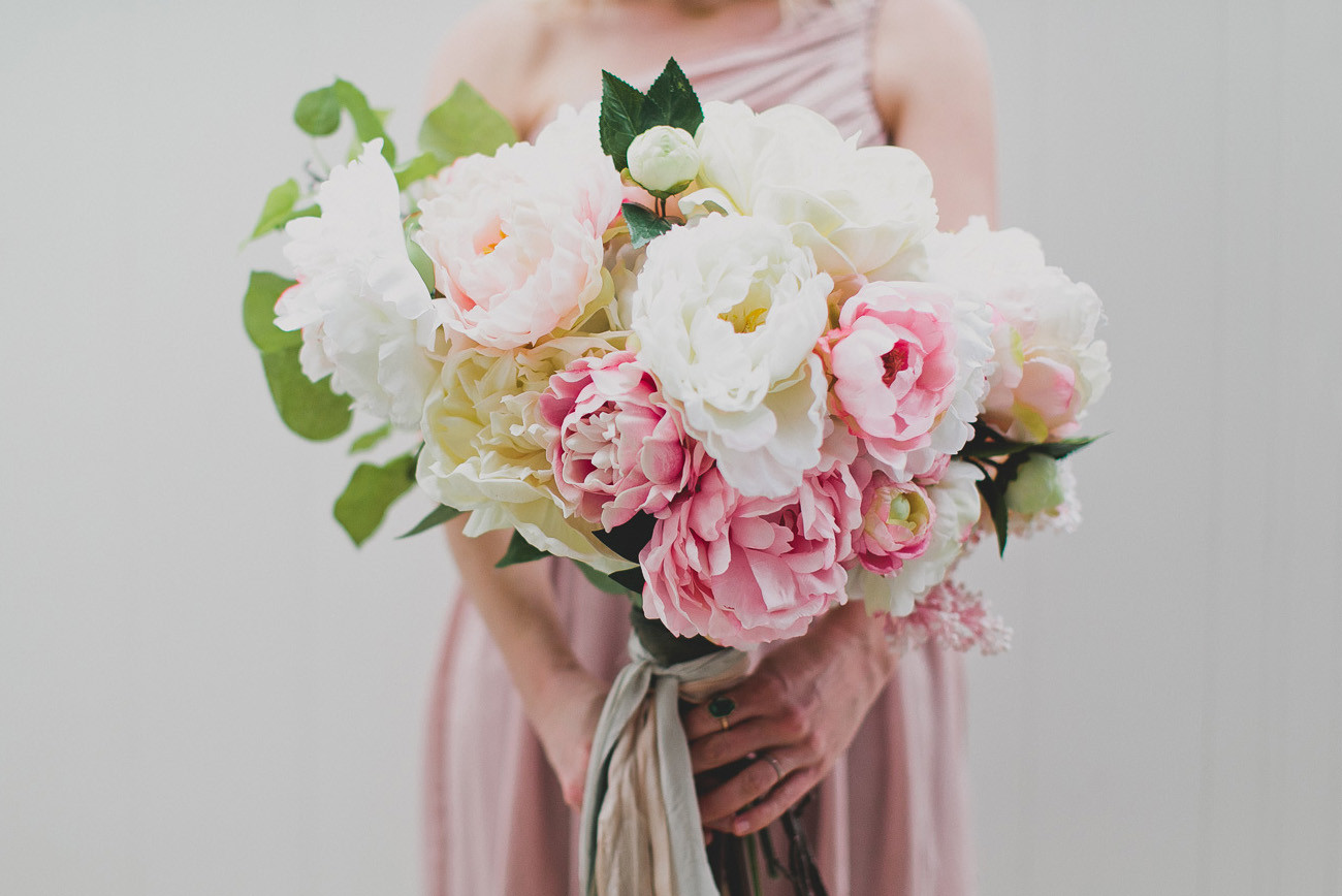 Best ideas about DIY Wedding Bouquet Silk Flowers . Save or Pin DIY Silk Flower Bouquet with Afloral Now.