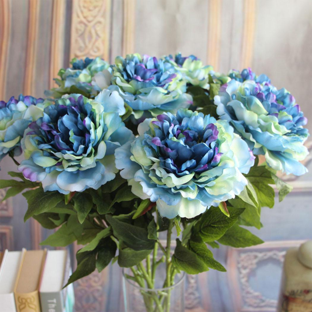 Best ideas about DIY Wedding Bouquet Silk Flowers . Save or Pin DIY Wedding Rose Peony Silk Flowers Bouquet Single Now.