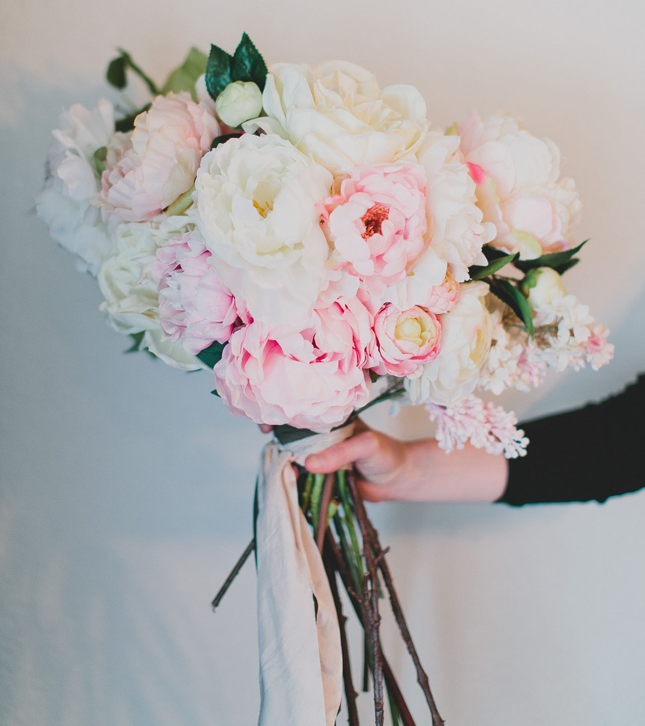 Best ideas about DIY Wedding Bouquet Silk Flowers . Save or Pin DIY Silk Flower Bouquet with Afloral Green Wedding Shoes Now.