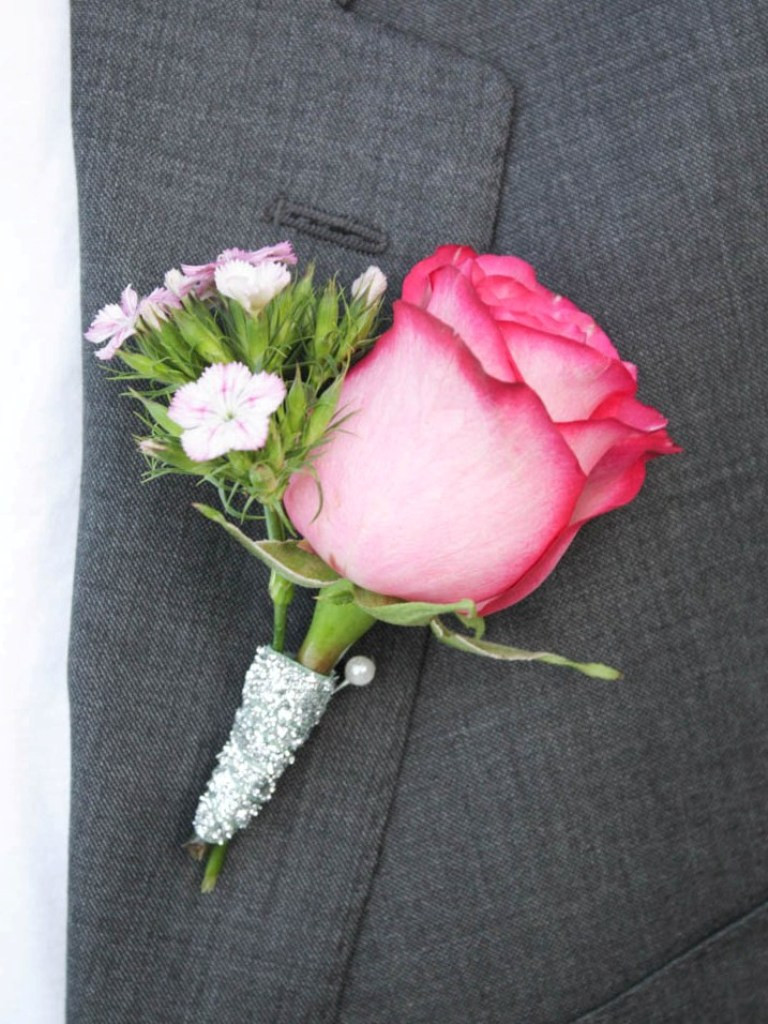Best ideas about DIY Wedding Boutonniere . Save or Pin DIY Wedding Bouquet and Boutonniere This Fairy Tale Life Now.