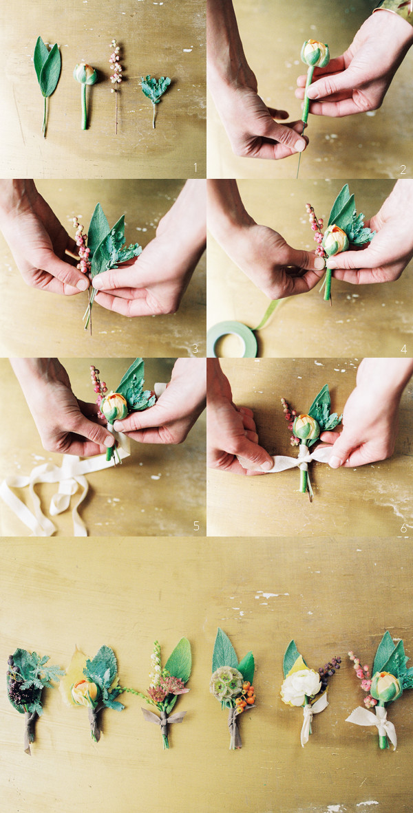 Best ideas about DIY Wedding Boutonniere . Save or Pin How To Wedding Boutonnieres Now.