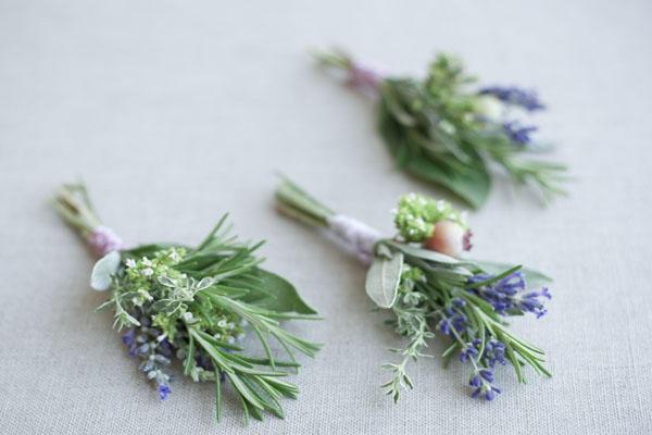 Best ideas about DIY Wedding Boutonniere . Save or Pin DIY Herbal Wedding Boutonnieres ce Wed Now.