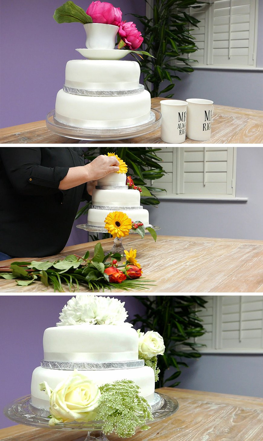 Best ideas about DIY Wedding Cake . Save or Pin Amazing DIY Wedding Cakes For Under £100 Now.
