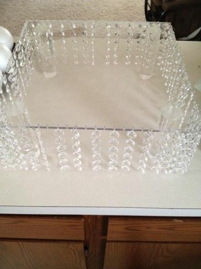 Best ideas about DIY Wedding Cake Stands . Save or Pin diy bling cake stand wedding cakes Juxtapost Now.
